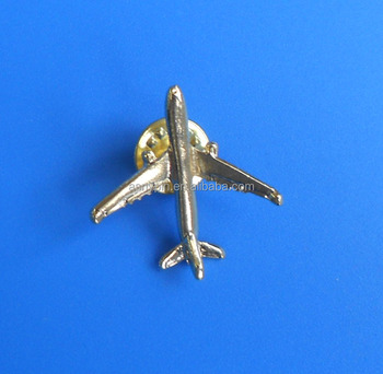 3d Airplane Badge,,3d Aircraft Lapel Pin,Custom Metal Airplane Pin ...