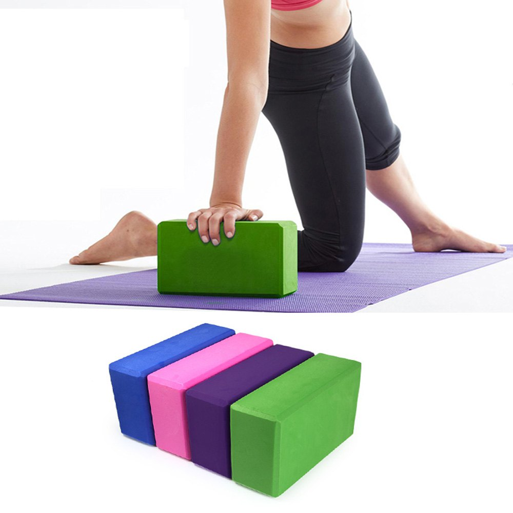 EVA Yoga Blocks Bricks Foaming Foam Home Exercise Fitness