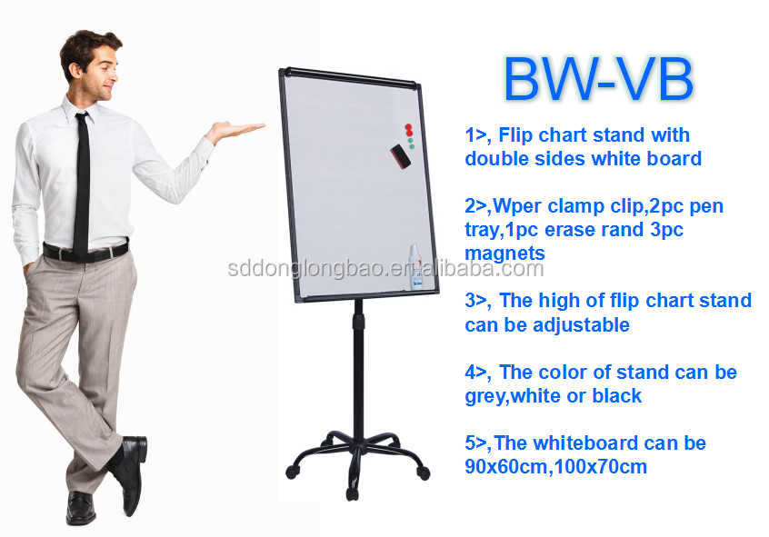 Proffessional Customized Wholesale 70x100cm Flipchart Easel For Teaching Equipment