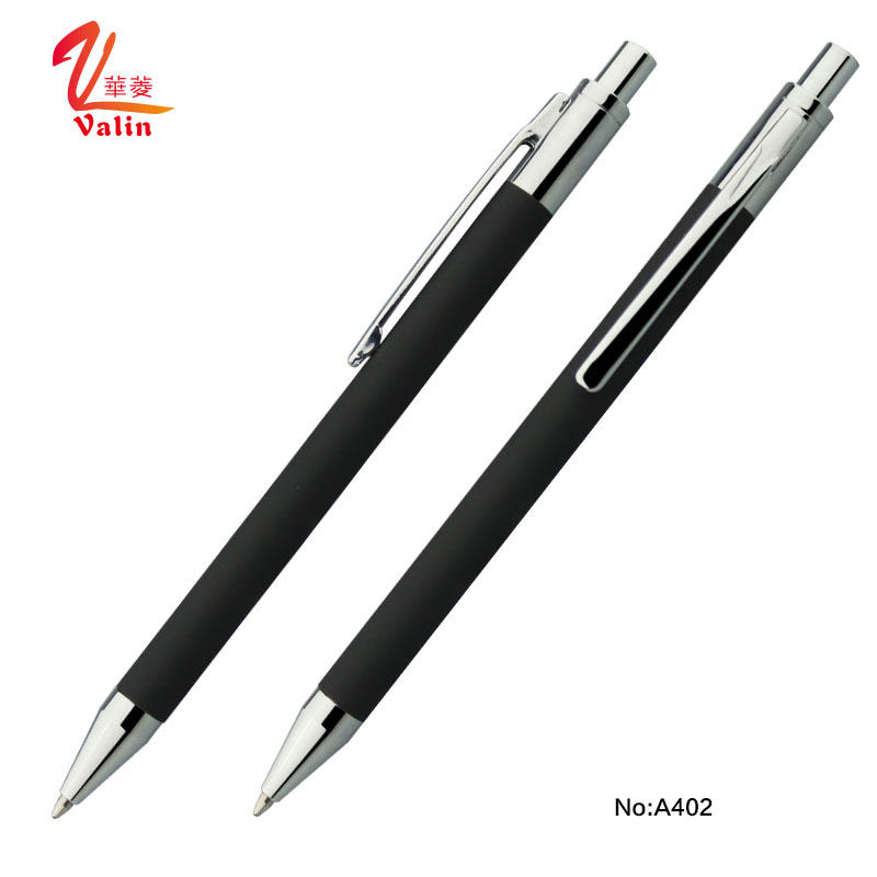 Factory price metal twist ball pen retractable ball pen ballpoint pen with cap