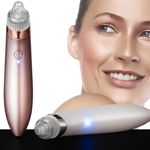 Handheld Vacuum Suction Blackhead Acne Removal Pores Deep Cleansing Face Lifting Skin Tightening Comedo Suction Beauty Device