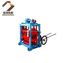 small machines for business stone dust brick machi,hollow blocks raw material,small manufacturing machines multi-functional bloc