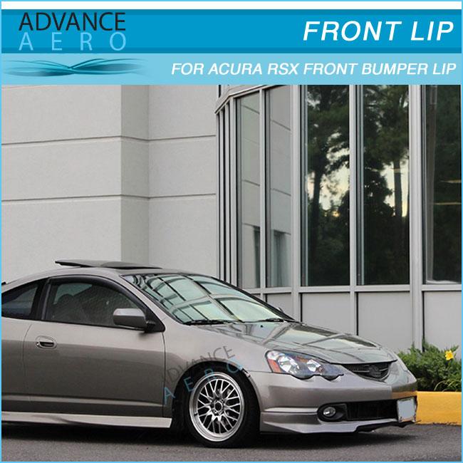 For Acura Rsx 02-04 Evo Style Pu Front Bumper Lip Spoiler