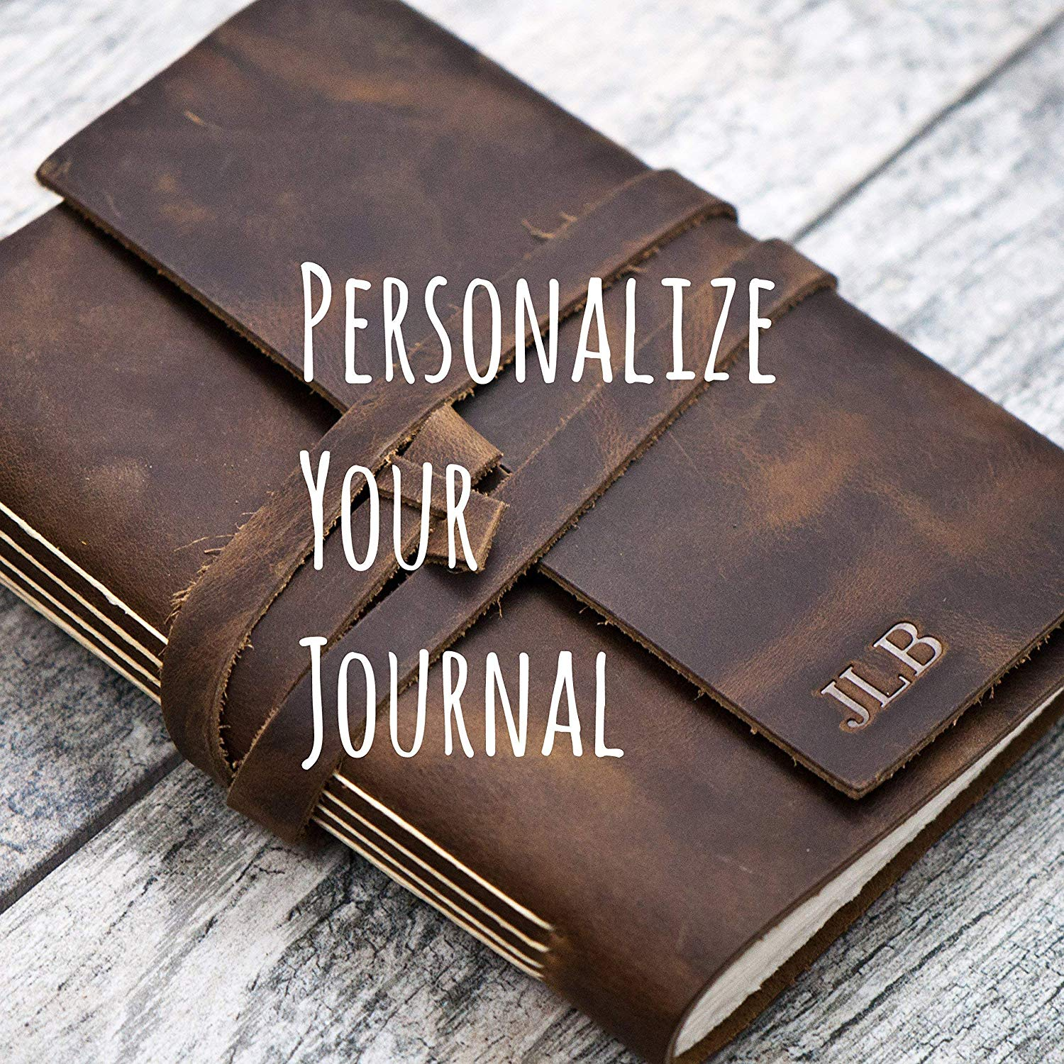 8afe44a20c9a Buy Personalized Leather Sketchbook Unlined Journal, Artist Drawing ...