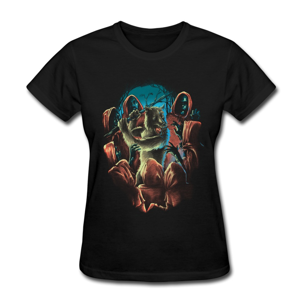 custom gildan t shirt woman wolf nightmare funny shapes t shirts women 39 s best sell in t shirts. Black Bedroom Furniture Sets. Home Design Ideas