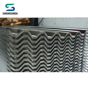 Building materials prepainted coil zinc steel corrugated roofing sheet from China factory