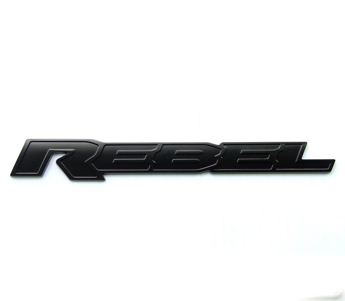 Buy Qukparts 1pc Oem Black Rebel Dodge Tailgate Decal Emblem Badge Nameplate Ram 1500 2500 Matte 13inch Long In Cheap Price On Alibaba Com