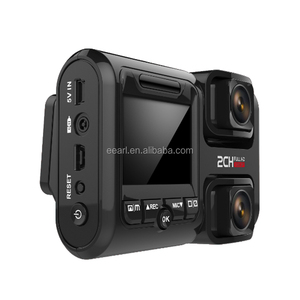 FHD Video Camera Recorder With GPS Speed Warning Car DVR Camera 1080p