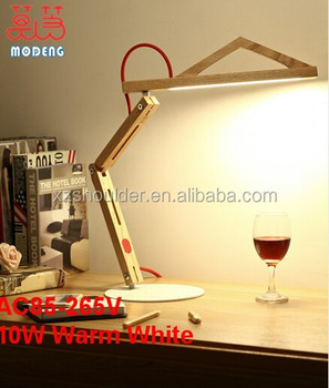 Newest Wood Stand Lamp Energy Saving Fodable Touch Sensor Led ...