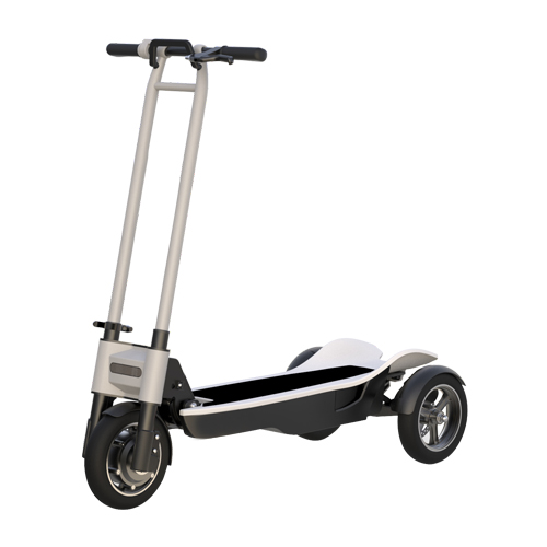 8.5 Inch 3 Wheel 48W 500W For Adults Attractive Design Electric kick Scooter, Red/grey