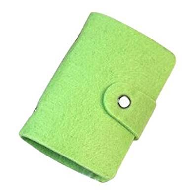 Card Holder - TOOGOO(R) Vintage Womens Pouch ID Credit Card Wallet Cash Holder Organizer Case Box Pocket, card holder, Green