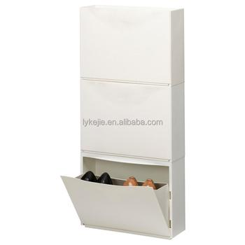 Narrow Wholesale Shoe Cabinet White Mirror Shoes Chest Locker Storage Closet with iron rotating rack  sc 1 st  Alibaba Wholesale & Narrow Wholesale Shoe Cabinet White Mirror Shoes Chest Locker ...