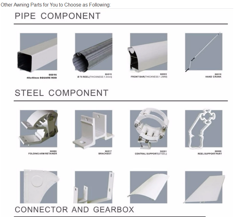 Professional Awning Bracket Supplier For Awning Parts ...