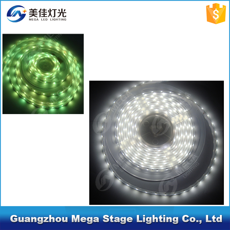 Garden light 12V SMD 5050 <strong>RGB</strong> 5m/roll led flexible strip light IP65 for sale
