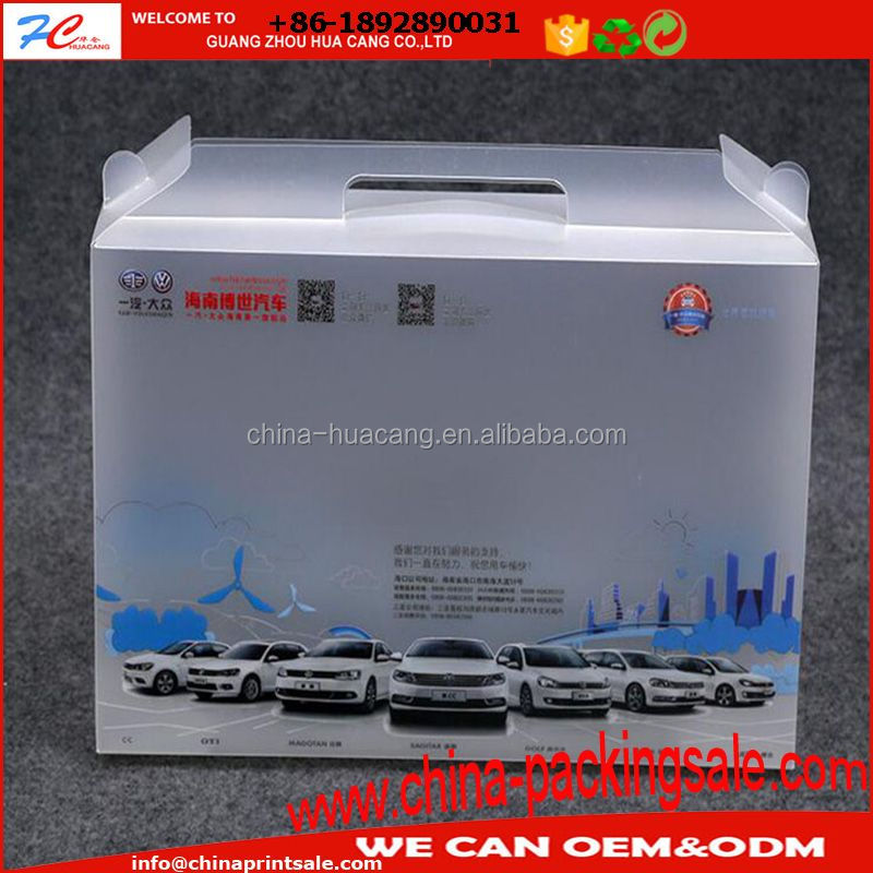 Color gift information file package PVC box,PVC printed packing box