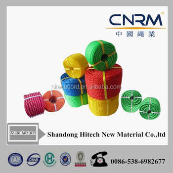 3-4 Srand PP PE Twisted Plastic Monofilament Rope