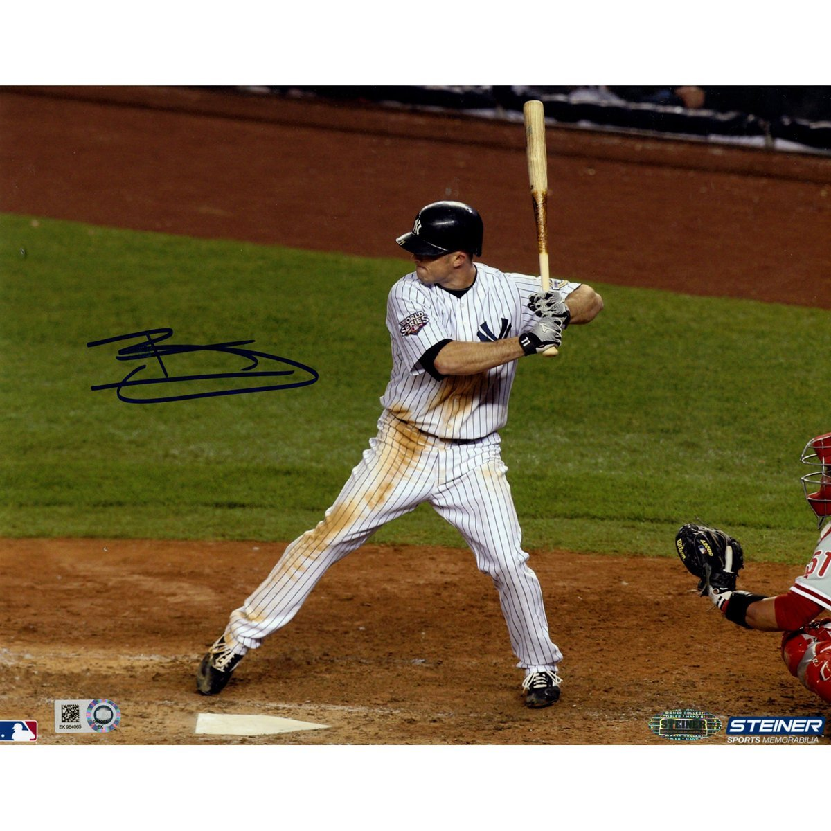 MLB New York Yankees Brett Gardner Signed Home Batting 8x10 Photo