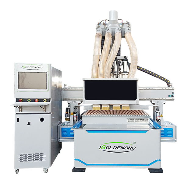 CNC 5 Axis Milling Machine Woodworking ATC EPS Foam Engraving Cnc Router High Z Axis 1220 Wood Carving Machine