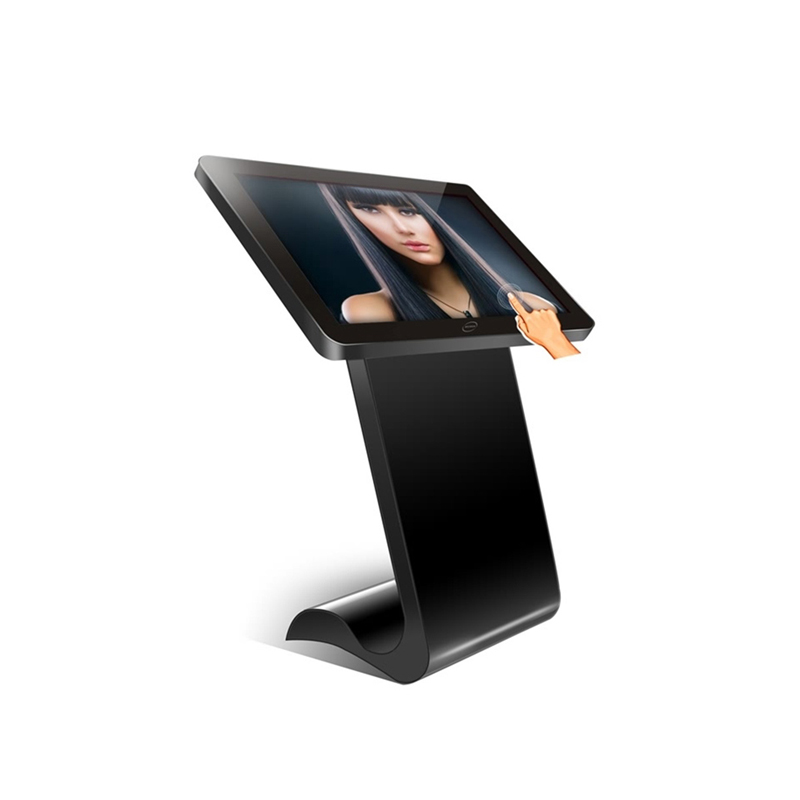 "55"" multi touch screen kiosk ,interactive kiosk with IR touch i3/i5/i7 PC kiosk"