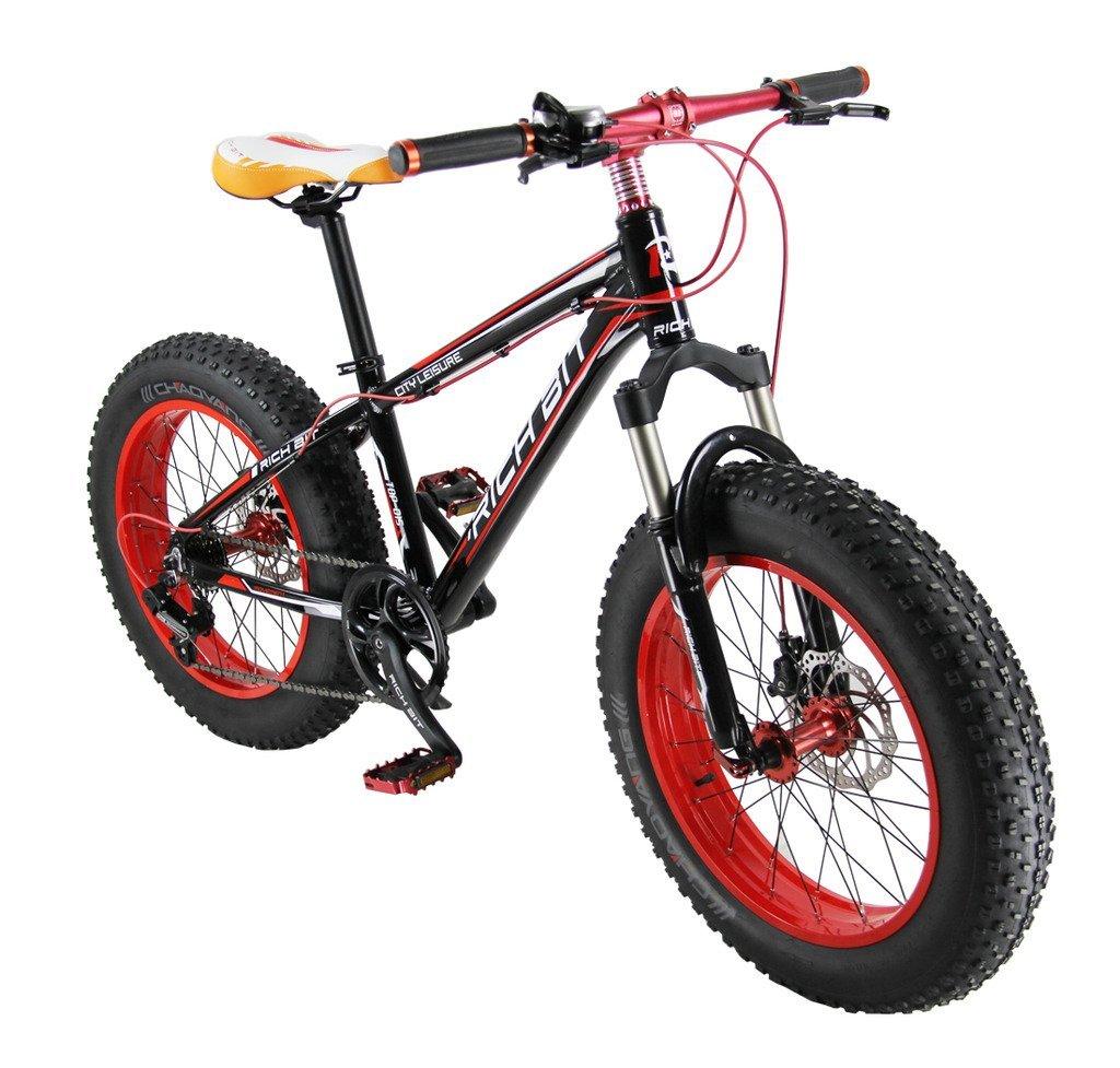 Buy Richbit RT015 Cruiser Bike Mountain Bike Snow Road Bike Red ...