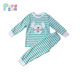 infant toddler clothing 100% cotton short sleeve t-shirts+pants easter bunny boys outfit sets