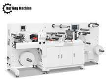 TOP-330Fht single color label flexo printing press with intermittent rotary die cutting unit