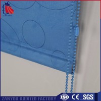 Best quality best price full blackout made to measure fabric roller blinds china