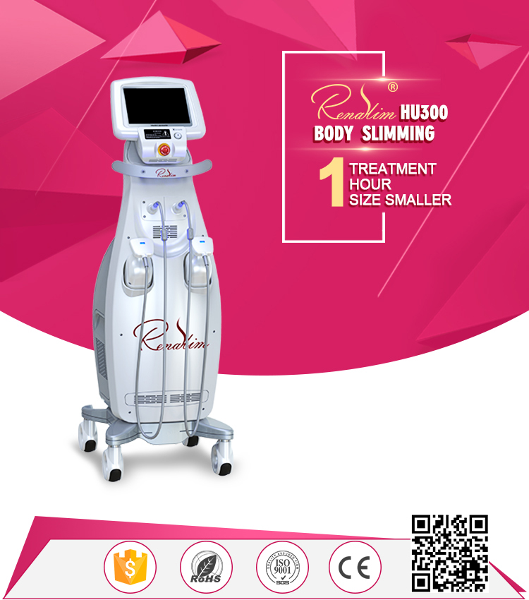2019 Renaslim 30000 Shots Liposonix Hifu Body Slimming Body Shaping Cellulite Reduction Hot Slimming Machine