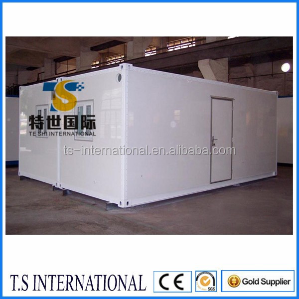 Movable prefab container house container home use as living room apartment hospital made in China