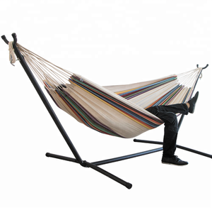 wholesale outdoor hammock chair stand