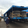 40ft Container chassis flatbed trucks trailer with twist lock