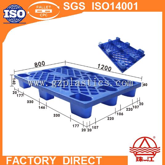 Form E Hdpe /pp Pallet Zj-1208-140 Nine-foot Mesh Plastic