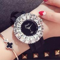 Luxury Bling Big Dial Quartz Wrist Watches for Women LXW01