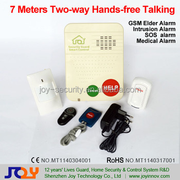 Elderly Health Care Products T10g Alarm System For