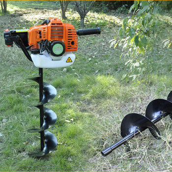 Best quality profession manual post hole digger 52cc 520 for Best quality garden tools
