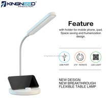 USB LED Desk Lamp 2017 For Reading Studying Relaxation Bedtime Touch-Sensitive LED Table Lamp