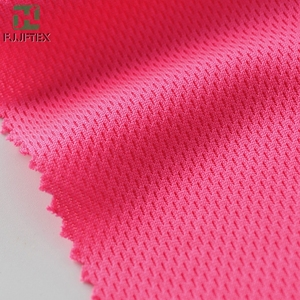 100% Polyester Honeycomb Bird Eye Mesh Dry Fit Sport Coolmax Fabric For Sport Wear