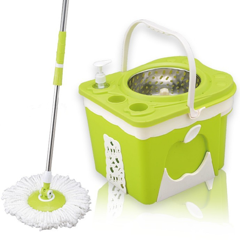 Japan Magic Spin Mop Hand Press Mop Mini Spin Mop