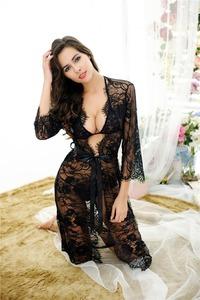 ecf82c51a24 Bonvatt Hot sale nightdress with G string lace wholesale pyjamas