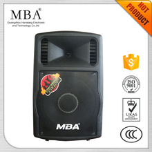 MBA 10 inch professional dj loudspeaker with disco ball light,usb sd jack,bluetooth for karaoke,party