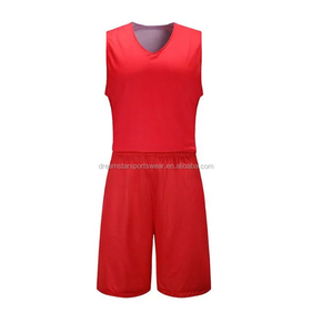 Latest Red Basketball Jersey Uniform Design 2019