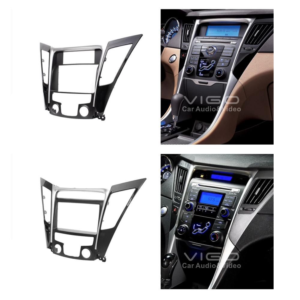 Car Radio Fascia Stereo frame facias for Hyundai i40 Install Dash Bezel Trim Kit