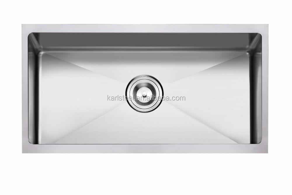 "American standard undermount 3218 32""X18""X10"" hand made single bowl stainless steel sink"
