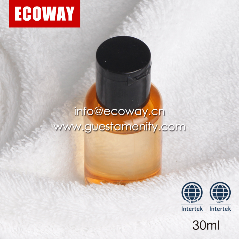 wholesale cheap luxury plastic hot sale hotel use bottles