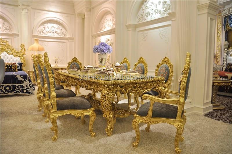 Antique Sculpt Table De Salle Manger Ensemble Superbe