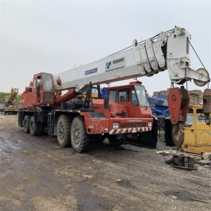 Japan used 70 ton truck crane Tadano TG700E on sale in Shanghai