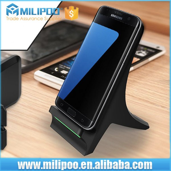 OEM factory Qi wireless charger for phone, newest wireless charger pad
