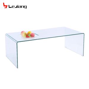 Italy Design Bent Glass Coffee Table Tea Table