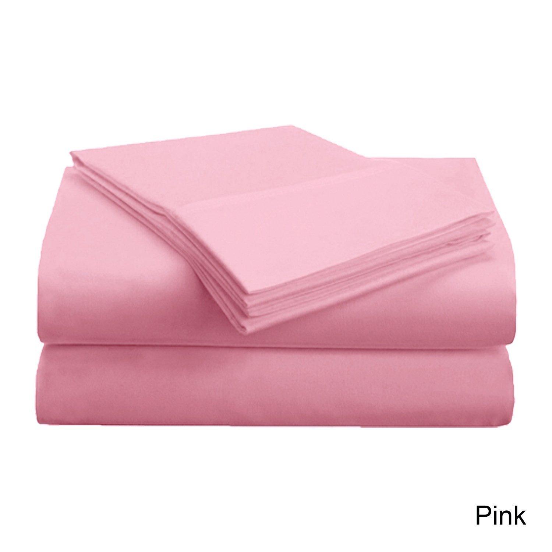 TieMart Boys Bubblegum Pink Solid Color Necktie