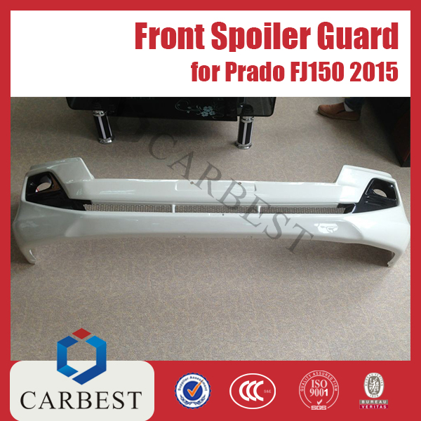 Hight Quality 2015 Front Spoiler Guard For Toyota Prado 150